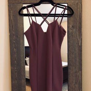 WORN ONCE! Super cute form fitting dress!
